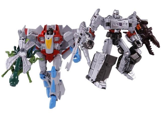 Transformers Generations Japan - TG28 Megatron & Starscream Set