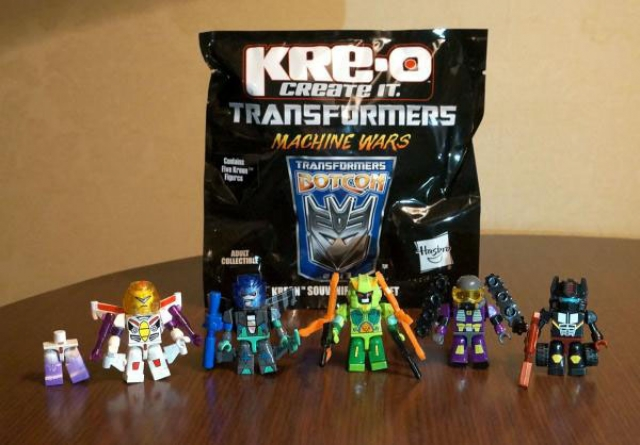 Botcon 2013 - Convention Exclusive - KRE-O - 5 Pack