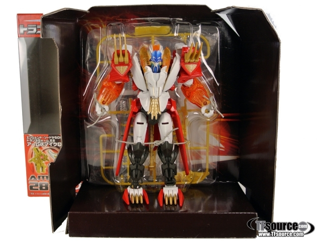 Japanese Transformers Prime - AM-28 - Leo Prime - MIB