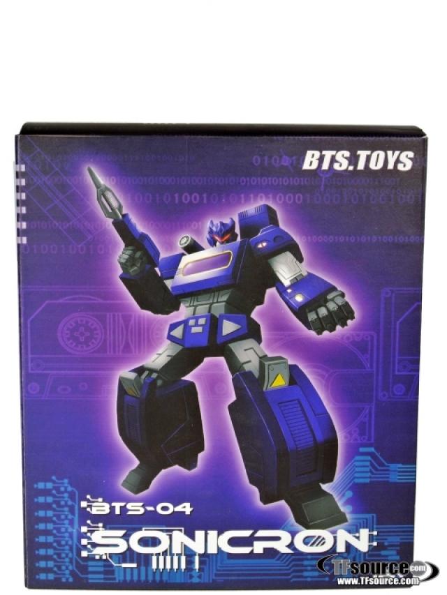 BTS-04 Sonicron Figure - MIB