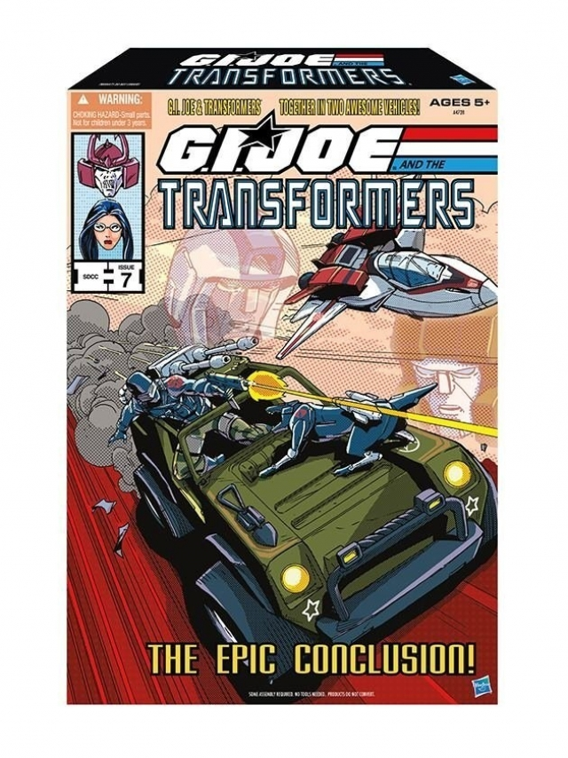 SDCC 2013 - Exclusive - GIJOE Transformers - the Epic Conclusion