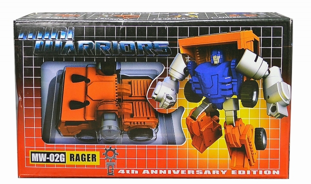 iGear - MW-02G Mini Warrior - Rager 4th Anniversary Edition - MIB - 100% Complete