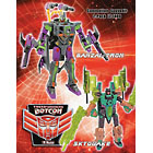 Botcon 2009 Banzai-Tron and Skyquake Set