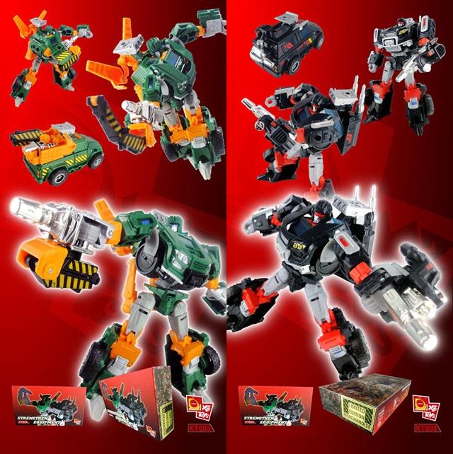 X2 Toys - XT003 Japanese Trailbreaker & Hoist - Metallic Edition - Add on Kit