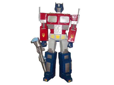 G1 Optimus Prime Head with Speaker, & 1 meter+ Figure