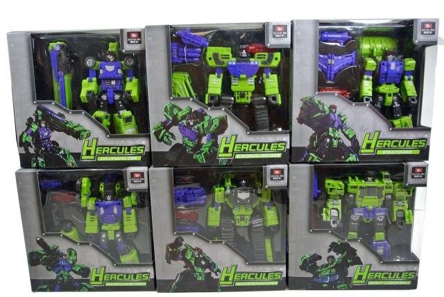 TFC Toys - Hercules - Full Set of 6 - MIB