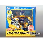 Disney Label - Donald Duck Transformer - Bumblebee