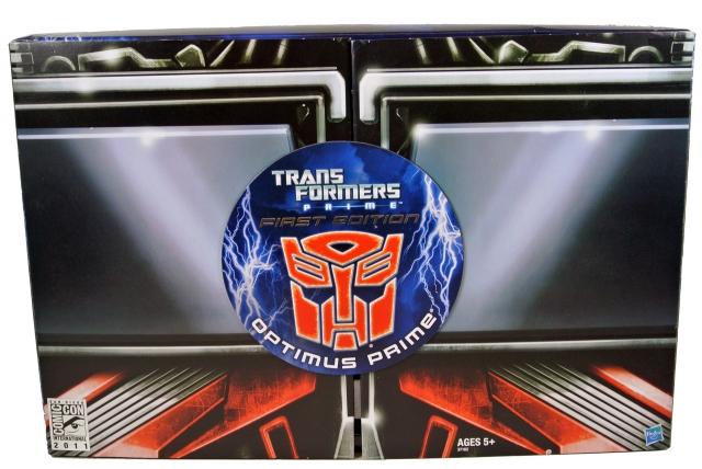 Transformers: Prime - SDCC 2011 Exclusive - Optimus Prime - MIB