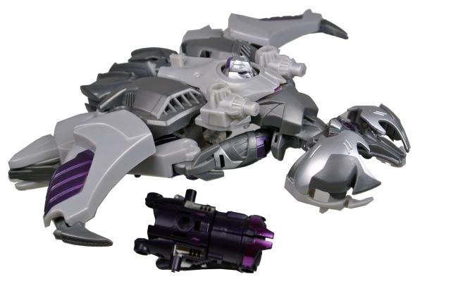 Japanese Transformers Prime - AM-05 - Megatron - Loose 100% Complete