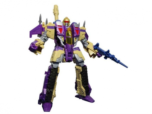 SXS - A-03J Japanese Voyager Blitzwing Replacement Head and Weapons