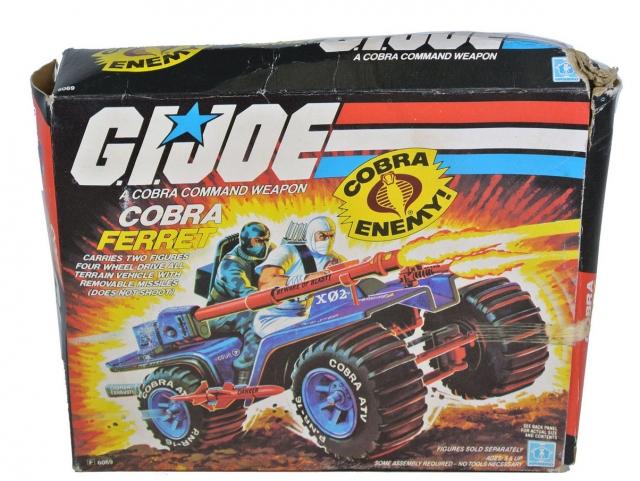 GI Joe - Cobra Ferret - MISB