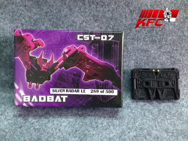 KFC - CST-07 - Badbat with Silver Radar & Black Badbat - 2 pack