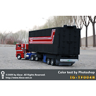 IG-TF004B - Masterpiece Big Trailer - Black Colors