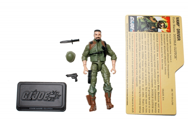 GIJoe - 25th Anniversary - Double Clutch - Loose 100% Complete