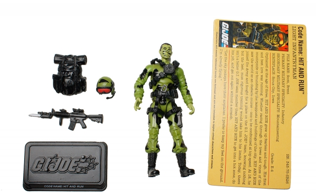 GIJoe - 25th Anniversary - Hit & Run - Loose 100% Complete
