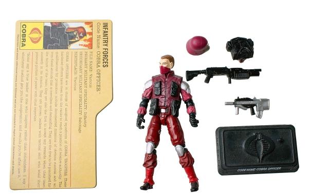 GI Joe - Resolute - Cobra Officer - Loose 100% Complete