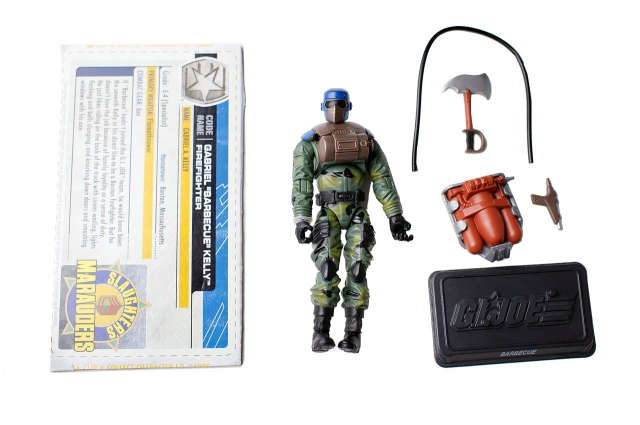 GIJoe - 30th Anniversary - Barbecue - Gabriel Kelly - Loose 100% Complete