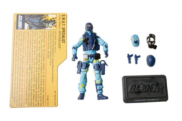 GIJoe - 25th Anniversary - Shockblast - Comic Pack - Loose 100% Complete