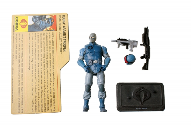 GIJoe - Resolute - Alley Viper - Cobra Battle Set - Loose 100% Complete