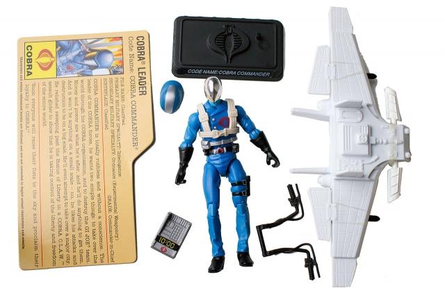 GIJoe - 25th Anniversary - Cobra Commander with Cobra Claw - Loose 100% Complete