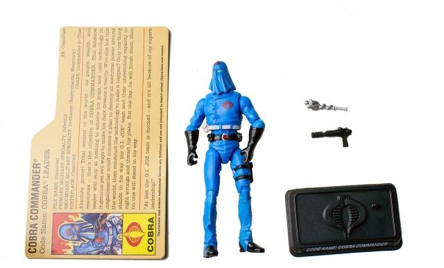 GIJoe - 25th Anniversary - Cobra Commander - DVD Battle Pack 4 - Loose