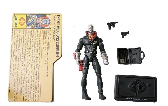 GIJoe - 25th Anniversary - Destro - Cobra Battle Pack - Loose