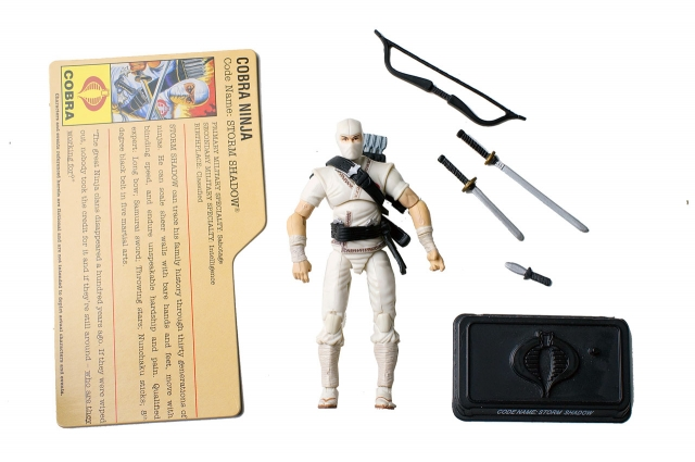 GIJoe - 25th Anniversary - Storm Shadow - Comic Pack - Loose 100% Complete