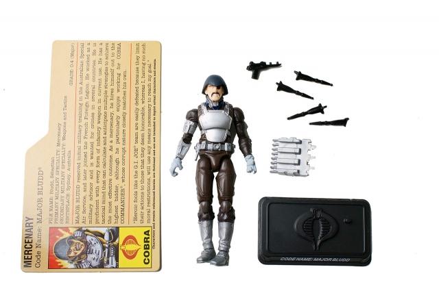 GIJoe - 25th Anniversary - Major Bludd - Battle Pack - Loose 100% Complete