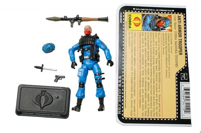 GIJoe - 25th Anniversary - Bazooka Trooper - Loose 100% Complete