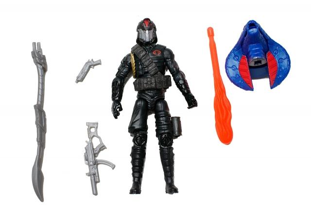 GIJoe - Retaliation - Cobra Commander - Premier Pack - Loose 100% Complete