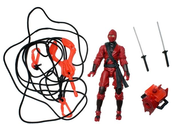 GIJoe - Retaliation - Red Ninja - Loose 100% Complete