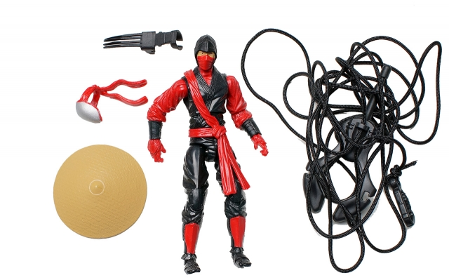 GIJoe - Retaliation - Red Ninja - Ninja Showdown - Loose