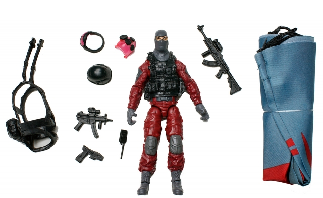 GIJoe - Retaliation - Cobra Invasion Trooper - Loose 100% Complete