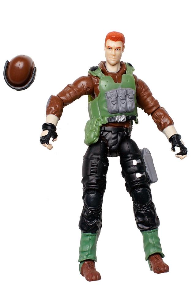 GIJoe - Rise of Cobra - Sgt. Thunderblast - Loose 100% Complete