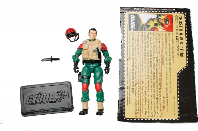 GIJoe - 25th Anniversary - Lift-Ticket - Loose 100% Complete