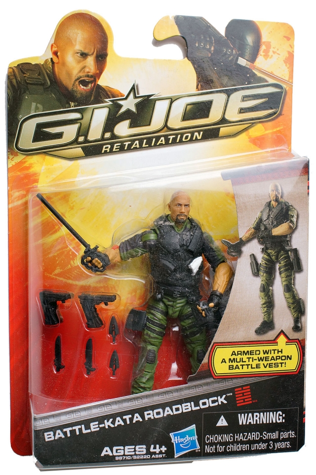 GIJoe - Retaliation - Battle-kata Roadblock - MOSC