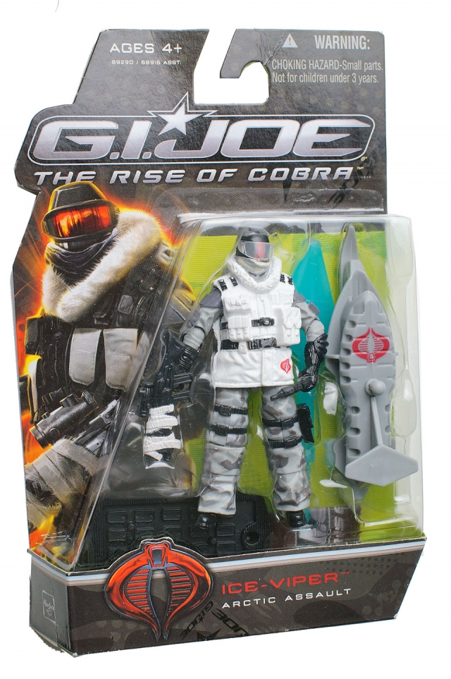 GIJoe - Rise of Cobra - Ice Viper - Arctic Assault - MOSC