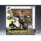 Disney Label - Donald Duck Transformer - Black & White Version