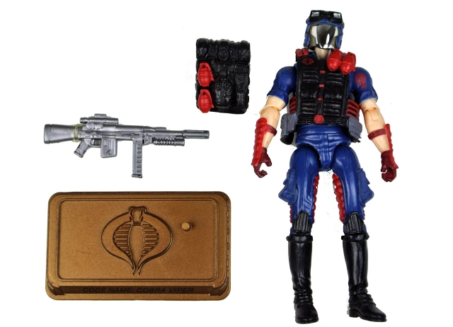 GIJoe - 25th Anniversary - Cobra Viper - Hall of Hero's - Loose 100% Complete