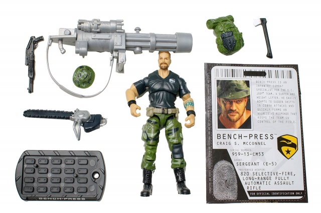 GIJoe - Rise of Cobra - Bench Press - Loose