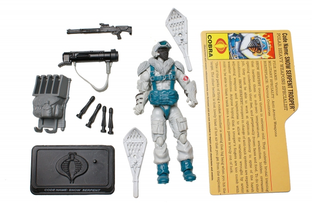 GIJoe - 25th Anniversary - Snow Serpent - Polar Combat Specialist - Loose 100% Complete