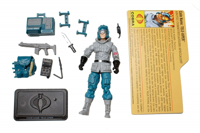 GIJoe - 25th Anniversary - Tele-Viper - Arctic Assault - Loose 100% Complete