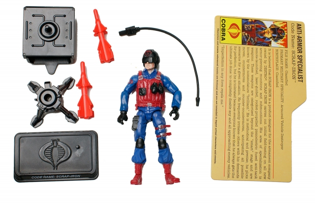 GIJoe - 25th Anniversary - Scrap-Iron - Comic Pack - Loose