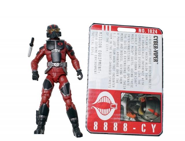 GIJoe - Pursuit of Cobra - Cyber-Viper - Loose 100% Complete