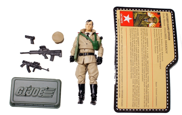 GIJoe - JoeCon 2012 - Oktober Guard � Colonel Brekhov - Loose 100% Complete