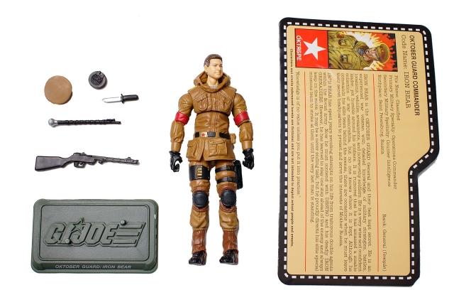 GIJoe - JoeCon 2012 - Oktober Guard - Iron Bear - Loose 100% Complete