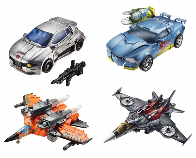 Transformers 2014 - Generations Series 04 - Deluxe - Set of 4 Figures