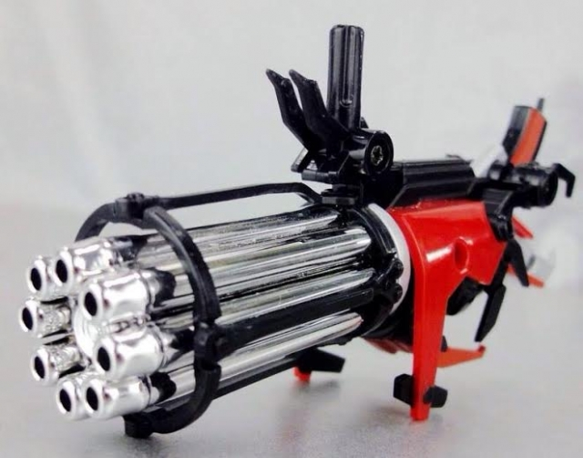 Zenith Forge - ZF-002 Beast Hunters Prime Head and Gun Upgrade Kit - Chrome