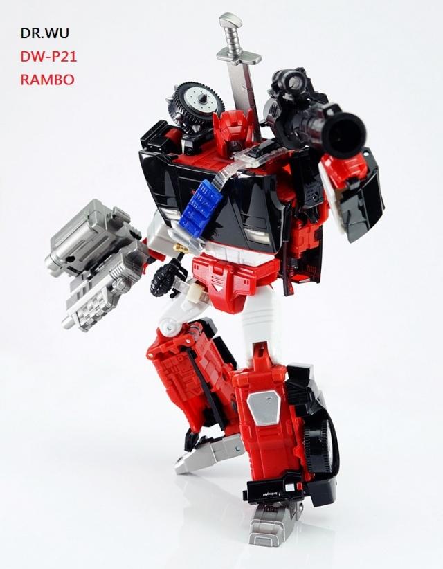 DR. Wu - DW-P21 Rambo Add-on Kit