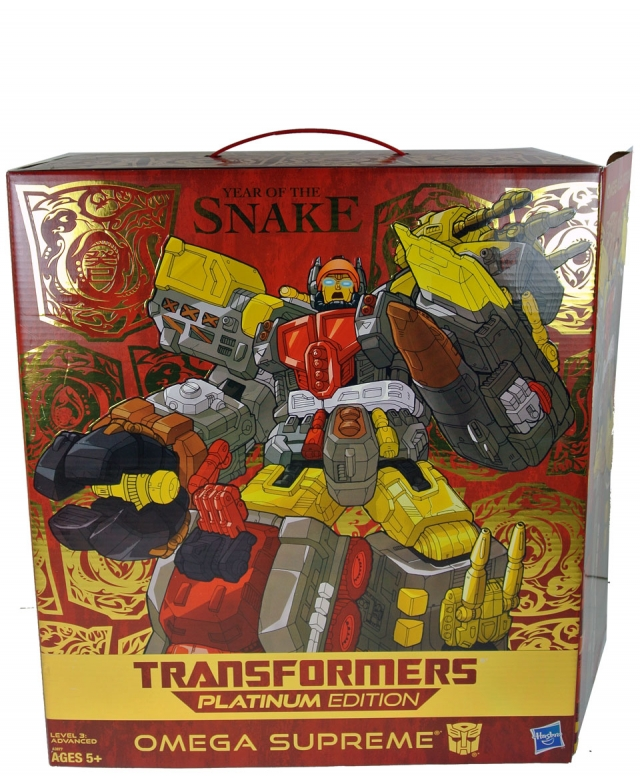 Platinum Series - Fall of Cybertron Omega Supreme - Year of the Snake Edition - MIB